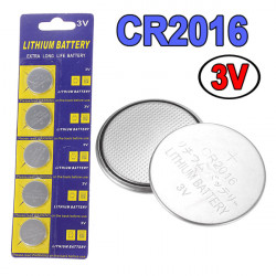 LOT 5 HEMORROIDER CR 2016 3V Lithium Bouton CR2016 BR2016 5000LC L10 F