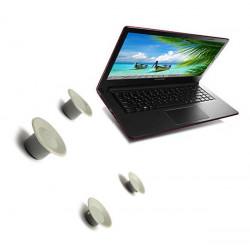 Laptop Cooling Pads Fötter Ställ 2 Par med Olika Höjd