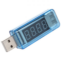 Mini Portable LCD Digital USB Voltage and Current Detector Tester