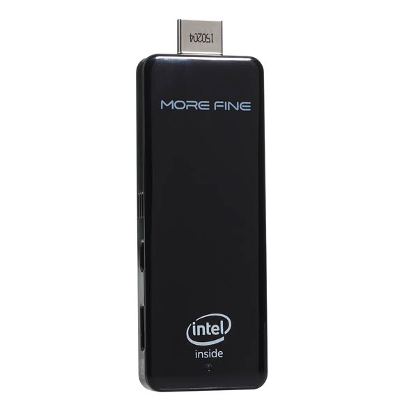 MoreFine M2 Mini PC Äkta Licens Dubbla OS Win8.1 Andriod Intel Z3735F Laptop Tillbehör