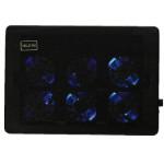 Nuoxi L112 6 Fans LED Ultra Slim Silent Cooling Pad für Laptop Laptops & Zubehör