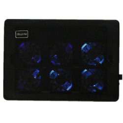 Nuoxi L112 6 Fans LED Ultra Slim Silent Cooling Pad for Laptop