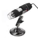 Bärbar 50X-500X 8 LED USB Digital Microscope Laptop Tillbehör