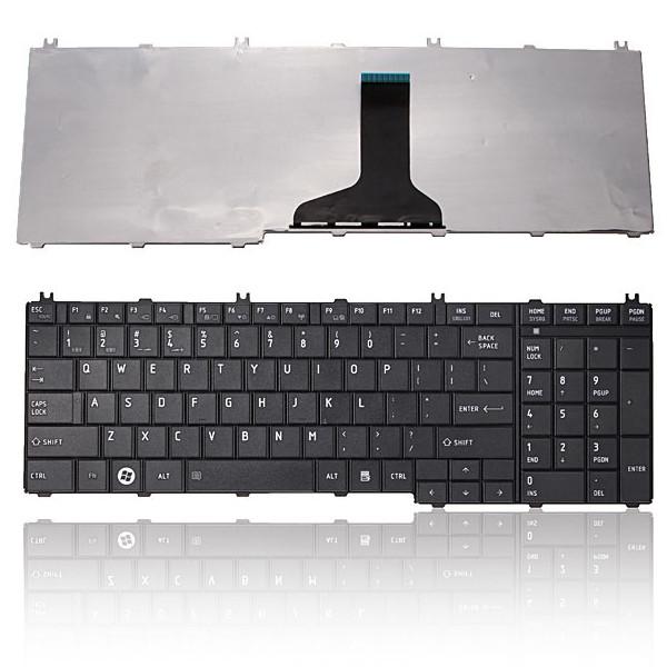 US Laptop Ersatz Tastatur für Toshiba Satellite C660 C660D C665 Laptops & Zubehör