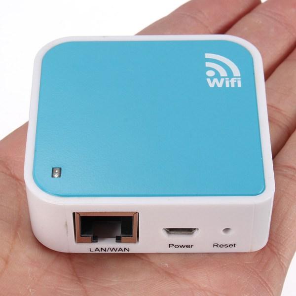 150Mbps Bærbare Mini WiFi Trådløs-N Nano Router AP Repeater Bridge Netværk & Routere