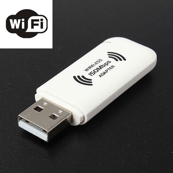 150Mbps USB WiFi-nätverk 802.11n Kortadapter Nätverk & Routrar