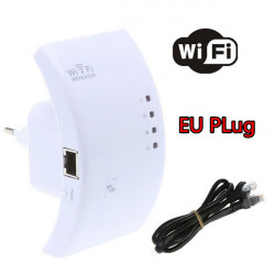 300M Wireless N WPS Wifi Repeater 802.11N Router Expander EU Plug