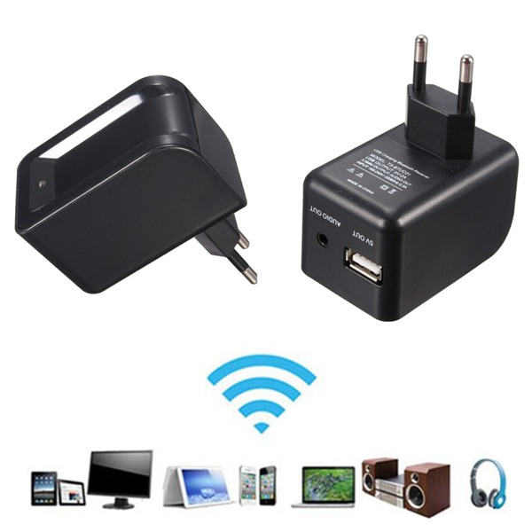 3.5mm Bluetooth2.0+EDR Audio Music Speaker Receiver with Charger Networking