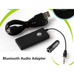 3.5mm Bluetooth A2DP Stereo Audio Adapter Dongle Music Receiver