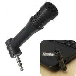3.5mm Jack Mini Stereo Condenser Studio Microphone 90 or 180 Degree