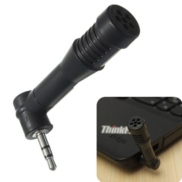 3.5mm Jack Mini Stereo Condenser Studio Microphone 90 or 180 Degree Microphones & Headphones