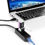 3 Ports USB3.0 Hub 100/1000 Mbps RJ45 Gigabit Ethernet Network Adapter Networking