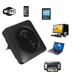 5G / 2.4G 300Mbps A / N Wifi 802.11a / N / G / B Repeater LAN Router Extender