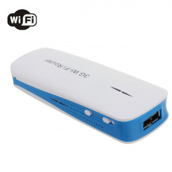 5in1 150Mbps 3G WIFI Mobile Router Hotspot and 1800mAh Power Bank