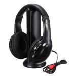 5in1 Stereo Funkkopfhörer FM Monitor mit Mic PC TV MP3 Telefon Mikrofone & Kopfhörer