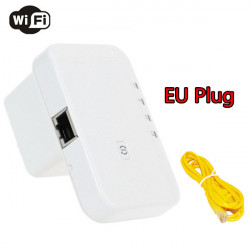 7W211 Wireless-N 300Mbps Wifi Repeater 802.11b/g/n with WPS EU Plug