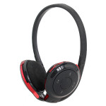 BH503 Stereo Bluetooth Rechargeable Insert TF Card Headphone With FM Microphones & Headphones