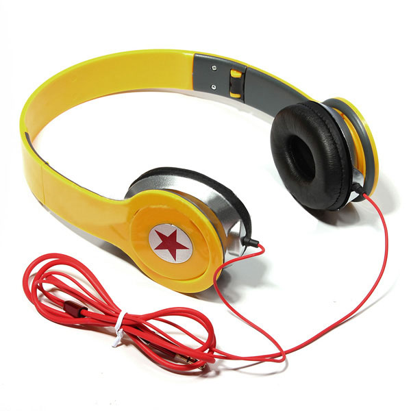 Comfortable Adjustable Stereo 3.5mm Headphone for PC MP3 MP4 MP5 Microphones & Headphones