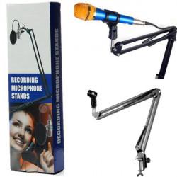 Desktop Microphone Suspension Arm Scissors Flexible Stand
