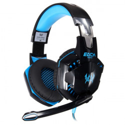 EACH G2000 Stereo Gaming Headphone LED Light with Mic