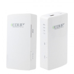 EDUP EP 9511N Wolken Assistent 150Mbps 3G Router Lagerung Energien Bank