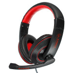 GX-K9 Adjustable Stereo Gaming Hifi Headphone with Mic Microphones & Headphones