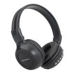 HW-N65 Digital Rechargeable Insert TF/SD Card Headphone With Radio Microphones & Headphones