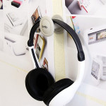 Headphone Hanger Holder Mount Rack Stand on PC Monitor Wall Microphones & Headphones