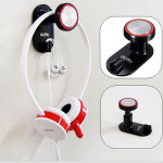 Headphone Holder Hanger Wall PC Monitor Stand Microphones & Headphones