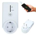 Hjem Plug Wall Smart WiFi Timing Sokkel Fjernbetjening Skift EU Netværk & Routere
