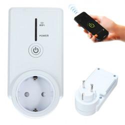Home Plug Wand Smart WLAN Timing Sockel Fern EU Schalter
