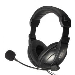 KOMC KM-750MW 3.5mm Stereo HiFi Gaming Headphones with Mic Skype