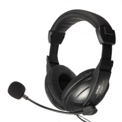 KOMC KM 750MW 3,5 mm Stereo HiFi Gaming Kopfhörer mit Mikrofon Skype