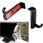 Light Weight Headphone Aufhänger PC Monitor Halter Schwarz Stehen Mikrofone & Kopfhörer