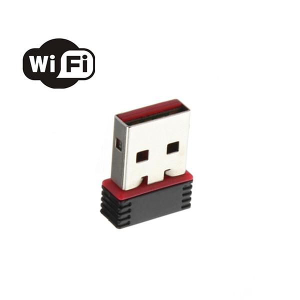 Mini 150Mbps USB WiFi Trådlös Adapter Nätverk LAN Card 802.11 N / G / B Nätverk & Routrar