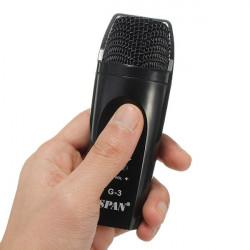 Mini Bærbar Håndholdt Mikrofon Karaoke Player Hjem KTV