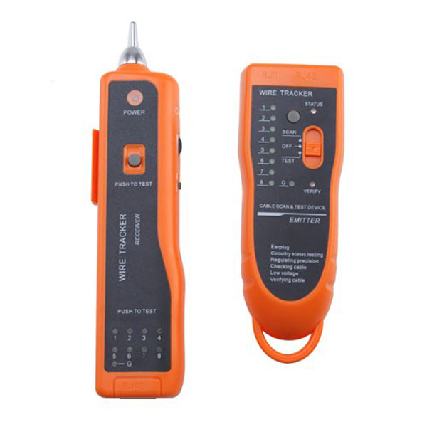 Network Phone Cable Tracker Wire Toner Tracer Tester Networking