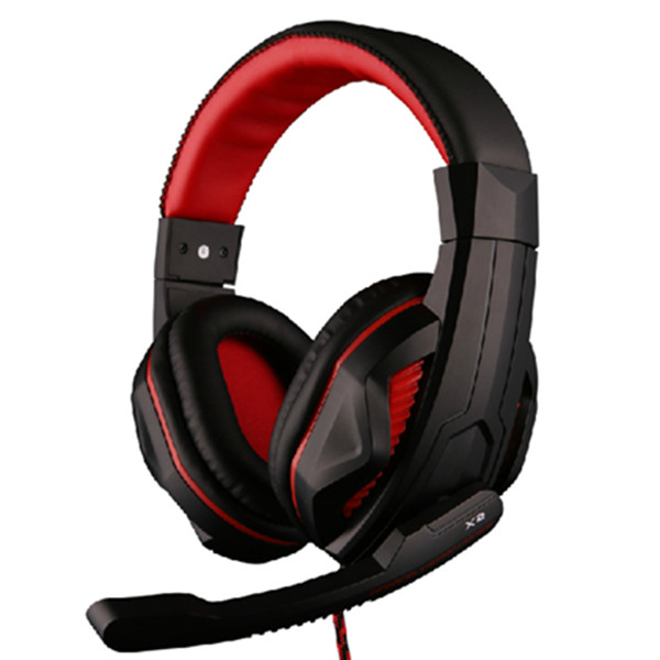 OVANN X2 Wired Comfortable Gaming Headphone with Mic Microphones & Headphones