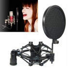 Professional Studio Microphone Wind Screen Pop Filter Mask Shield Microphones & Headphones