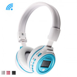 SPARKLE b570 Bluetooth 3.0 Stereo Audio Headset with Mic TF FM LCD