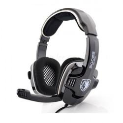 Sades SA-922 Stereo Gaming Hörlurar med Mikrofon för PC PS3 XBOX