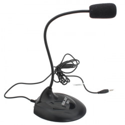 Salar M6 Wired Single Track Flexible Neck Computer Laptop Microphone