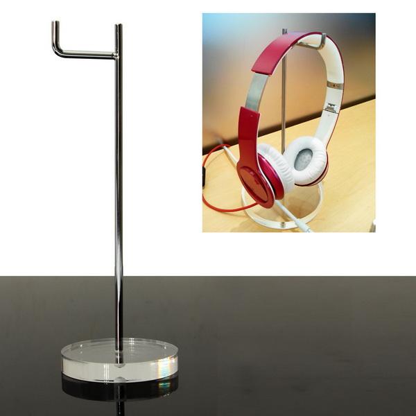 Universal 15mm Acrylsockel Kopfhörerständer Kopfhörer Anzeigen Halter Mikrofone & Kopfhörer
