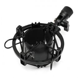 Universal Plastic Mikrofon Shock Mount Holder Clip Studio Stativ
