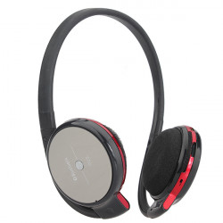 WST-508 Bluetooth Insert TF Card Rechargeable Headphone With FM