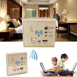 Wall Embedded Wifi Router Multifunctional Wireless 150Mbps