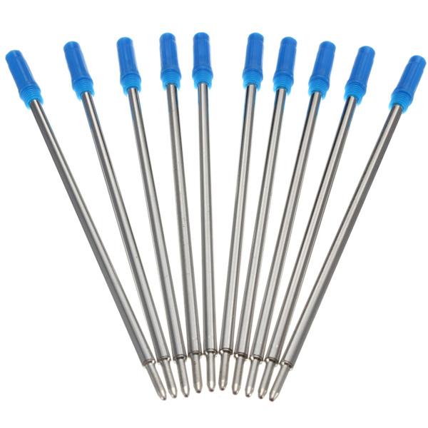 10xCross Typ Medium Kulspetspennor Blå Patroner Bläck Kontor & Skolmaterial