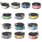 13 Colorful 3mm PLA 3D Filament Spool For 3D Printer Office & School Supplies