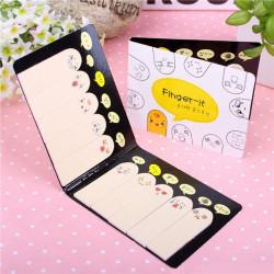 200 Sider Forskellige Cute Expression Fingers Memo Indlæg It Sticky Notes