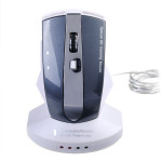 2.4GHz M-011G Wireless Rechargeable Mouse and USB Hub Keyboards & Mouse